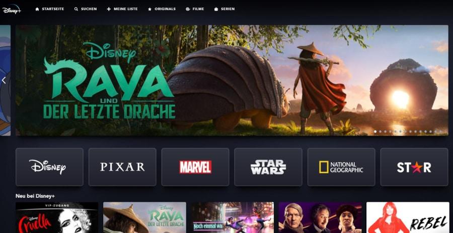 Disney Plus Angebot